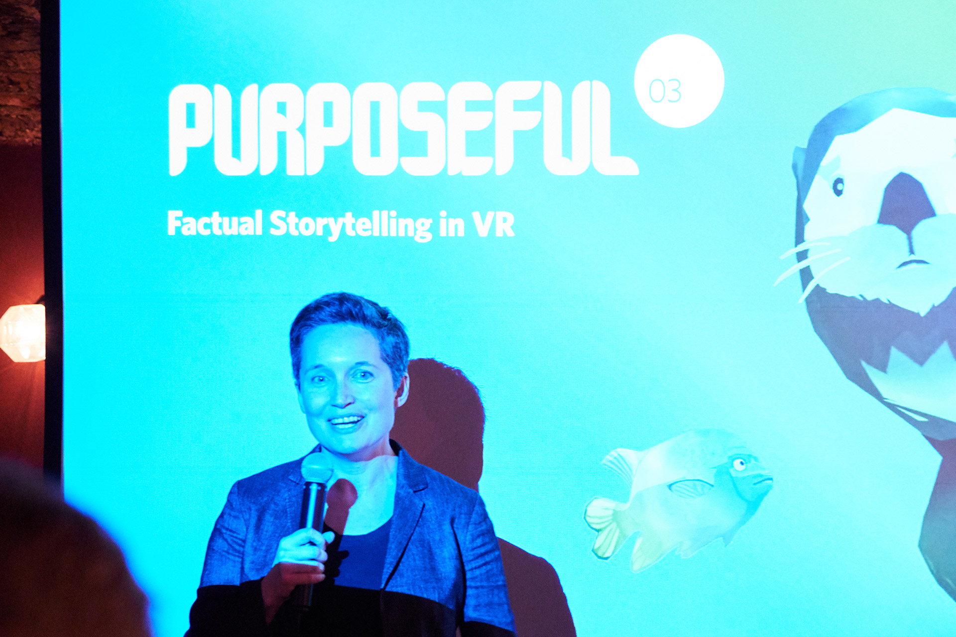 Factual Storytelling in VR